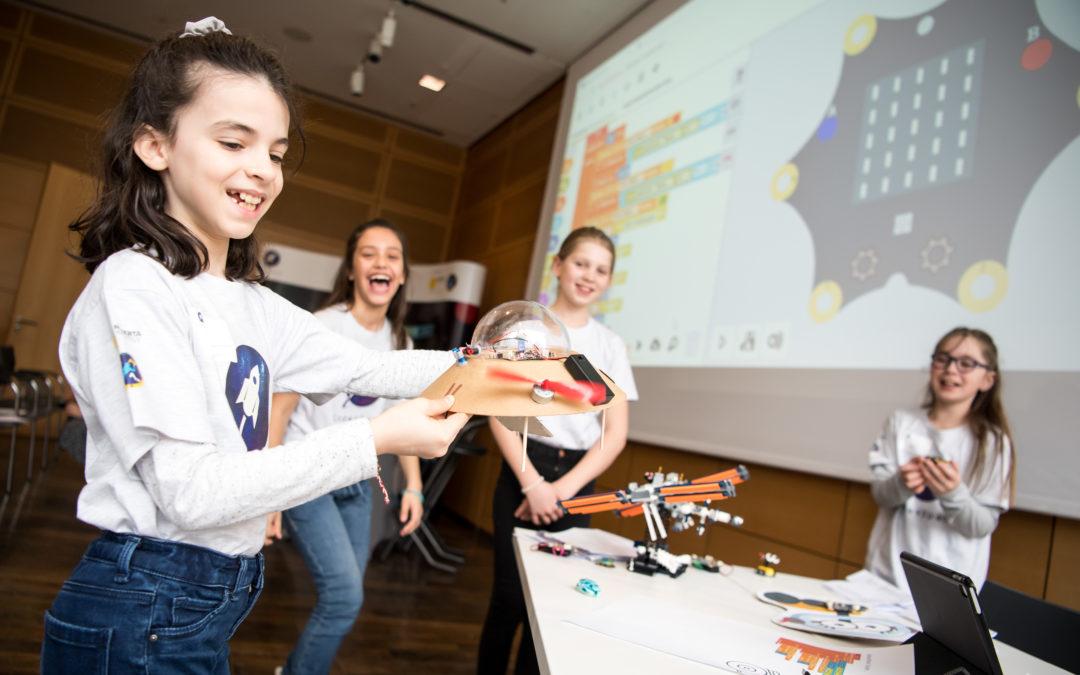 Code4Space – Fraunhofer und Stiftung »erste deutsche Astronautin« starten Wettbewerb für Grundschulen