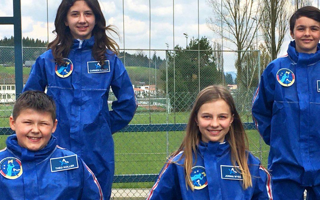 Auf Weltraummission mit der Kanzlerin: Fraunhofer IAIS und »Astronautin« verkünden »Code4Space«-Sieger*innen zum Girls'Day-Auftakt